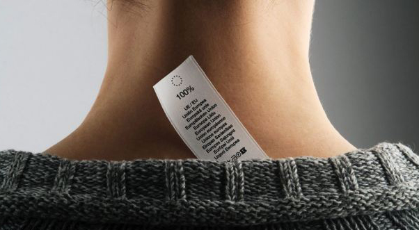 Scratchy Clothes Tag on Highly Sensitive Person