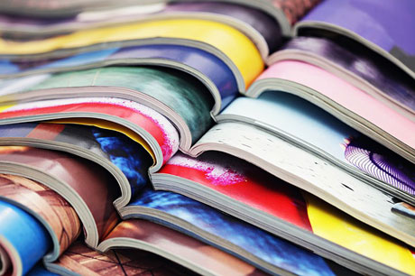 Magazines, in the media