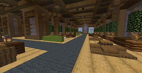 Theracraft, TheraThrive's Minecraft server: Inside the lobby (July 2020)