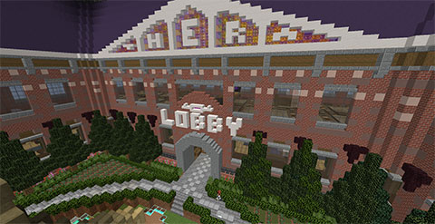Theracraft, TheraThrive's Minecraft server: Lobby (July 2020)